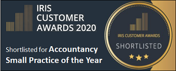 Shortlisted for Accountancy Small Practice of the Year 2020